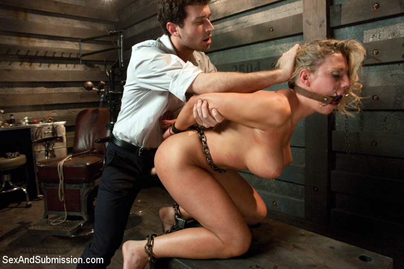 Submissive rope tied marley blaze needs disgraceful fuck 6