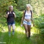 Two Beautiful Hikers : Sex and Submission