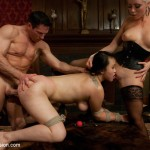 Asian lady to a bondage : Sex and Submission